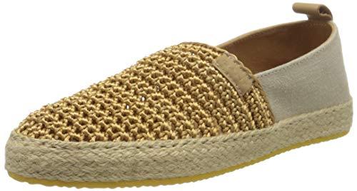 GANT Footwear Damen RAFFIAVILLE Slipper, Beige (Fudge Caramel G224), 41 EU