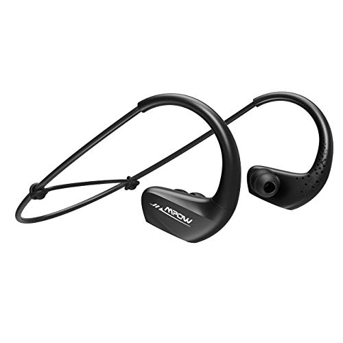 Mpow Ecouteur Bluetooth Sans Fil, Oreillette Bluetooth Sport Intra Auriculaire Audio, Casque Anti Bruit Stéréo Headphone Mains