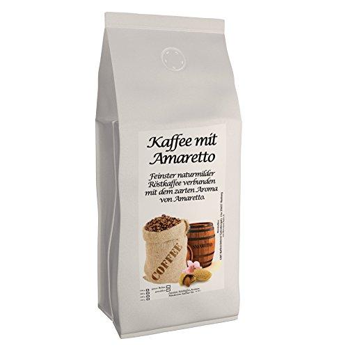 Aromakaffee - Aromatisierter Kaffee - Amaretto 200g - Frisch Gemahlen Und Von Uns Geröstet