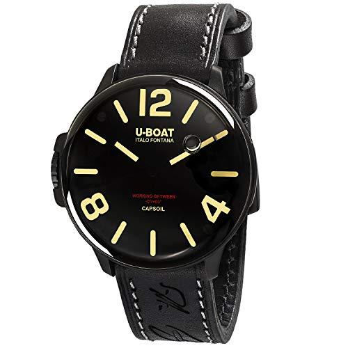 U-Boat - Reloj CAPSOIL DLC 45 mm acero cuarzo...