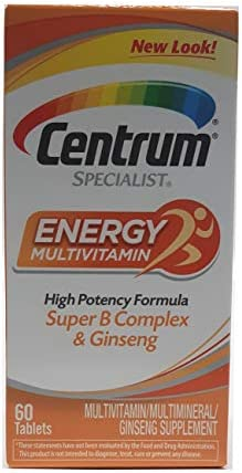 Centrum Energy Specialist Size 60ct Centrum Energy Specialist 60ct product image