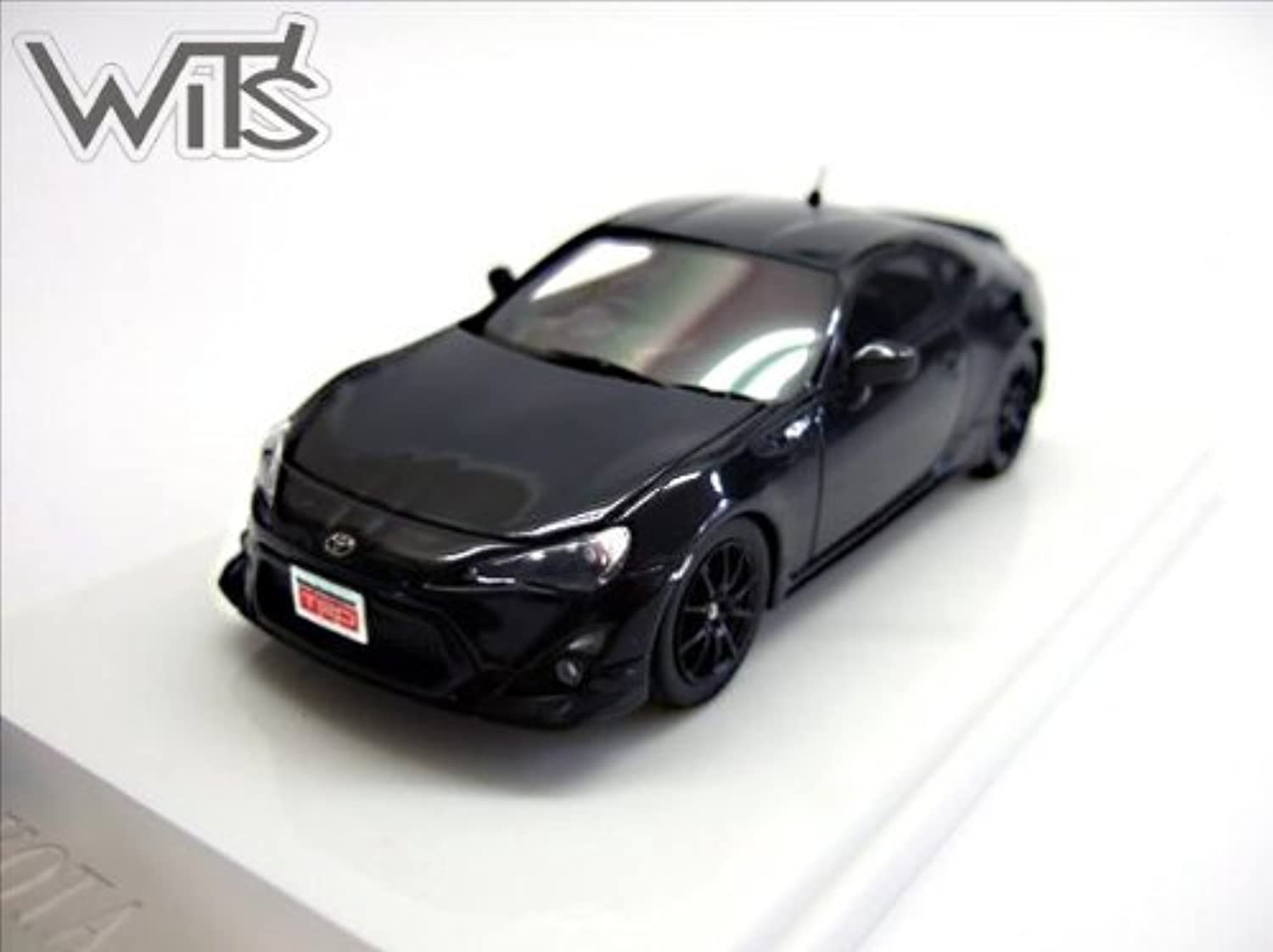 WIT'S 1 43 TOYOTA 86 TRD Crystal Black Silica (japan import)