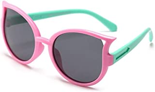 GF-outdoor products - GF-outdoor products Polarizador sombrilla de Gafas de Sol Personalizadas for niños y niñas for niños y niñas (Color : Pink)
