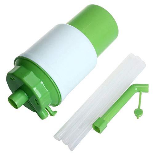 LILICEN CY Manual de la Bomba de Agua Potable 1x dispensador de Bomba portátil presión de la Mano embotellada sin Oficina al Aire Libre Fuente de alimentación