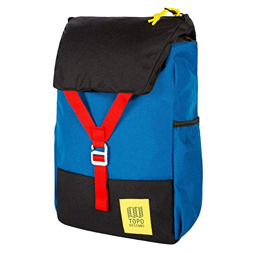 Topo Designs Y Backpack One Size Blue Black