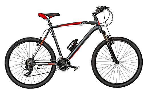 Bici Misura 26 Uomo MTB Front Alluminio KUSTER 21V Art. KR26 (45 CM)