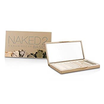 URBAN DECAY Naked 2 Eye Palette  6 X 0.3g Eyeshadow + Double Ended Brush  Clear 1 Oz