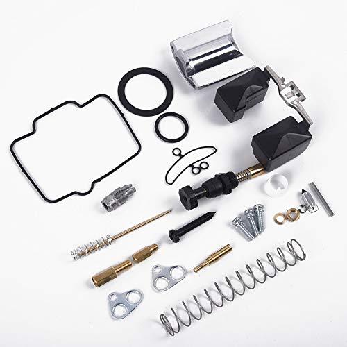 BGTR Accesorios de Moto Nueva PWK38 Motocicleta carburador reparación Reconstruir Fix Juego de Ajuste Compatible for Keihin de 38 mm de Carb