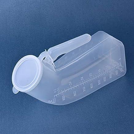 Gloveleya Male Portable Travel Urinals Mens Potty Hospital Plastic Pee Bottle 1000ML …