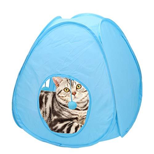 QuRRong kat tunnel opvouwbare kat kubus tunnel kat speelgoed pop-up kat kubus spel kamer kennel kat bed pop-up kat tunnel