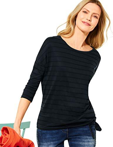 Cecil Damen 315943 T-Shirt, Carbon Grey, XL