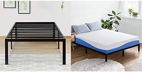 Top 10 Best olee sleep 10 inch gel infused layer top memory foam mattress blue Reviews