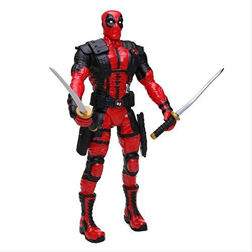 wasd 28Cm Endgame Figure Super Hero Deadpool Action Figure Modello da Collezione Toy for Kids Toys