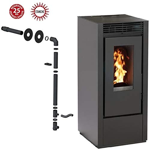 INTERSTOVES - PACK INTERSTOVES - Poêle à granules MARINA 11KW...
