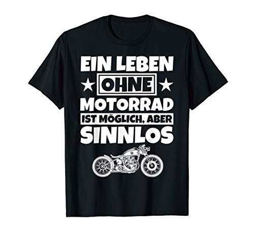 Motorradliebhaber Geschenke lustiger Spruch Motorrad