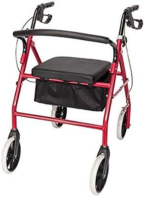 Amazon.com: MS - Silla de ruedas plegable de aleación de ...