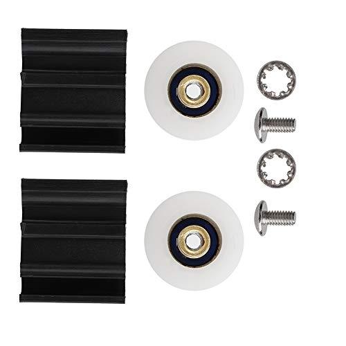 Omabeta Kits de Remplacement de Roue de Porte de Serre Halls Kit de roulettes légères pour Porte de Placard coulissante Kits de Remplacement faciles à déplacer 22mm