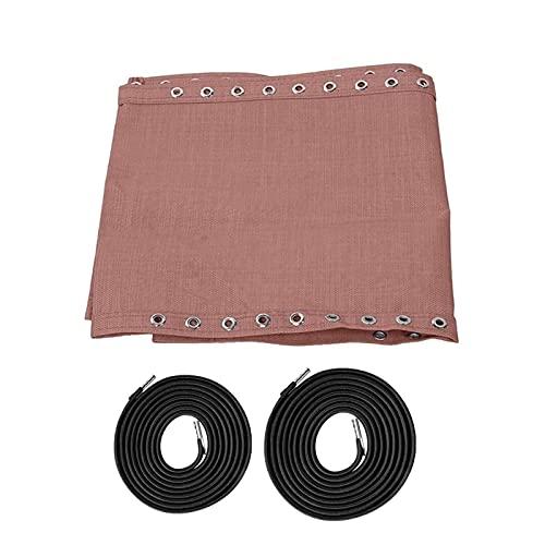 DASNTERED Tela de repuesto para silla con cuerdas, tela de repuesto duradera, portátil, antigravedad, para patio, eslinga, reclinable, exterior, piscina, césped