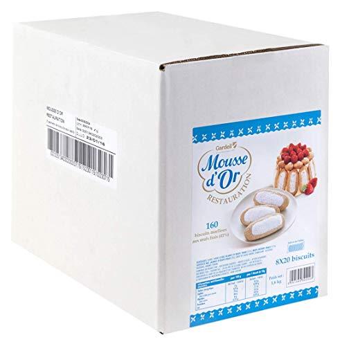 Mousse dOr Biscuits aux Œufs 8 x 200 g 8 Unités