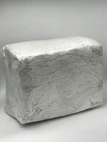 Industrieputzlappen Kattun-Bettwäsche weiß, 10 kg