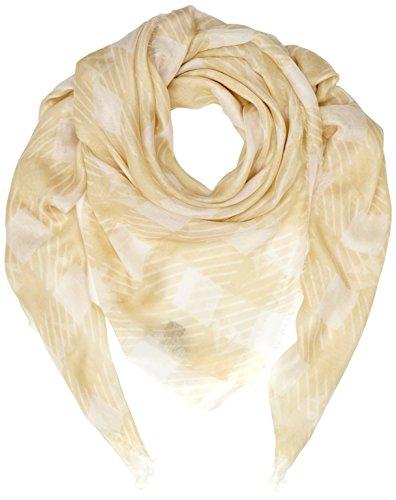 Aquascutum sjaal terraneier armleuningen geel/wit