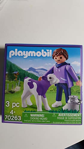 Playmobil Set 70263 Frau mit lila Kuh