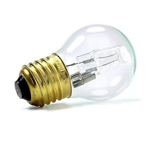 rosemaryrose Backofenlampe 40w 300 Grad Sauna Glühbirne-E27 40W Warmweiße Backofenlampe - Hitzebeständiges Licht 110-250V 500 ° C