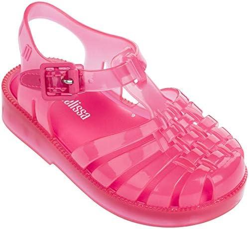 Melissa - Unisex-Child Mini Possession Bb Sandal, Size: 10 M US Toddler, Color: Pink Happy