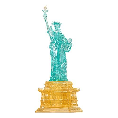 HCM Kinzel 59173-Puzzle 3D Crystal Statua della libertà, 78 T, Multicolore, 91012