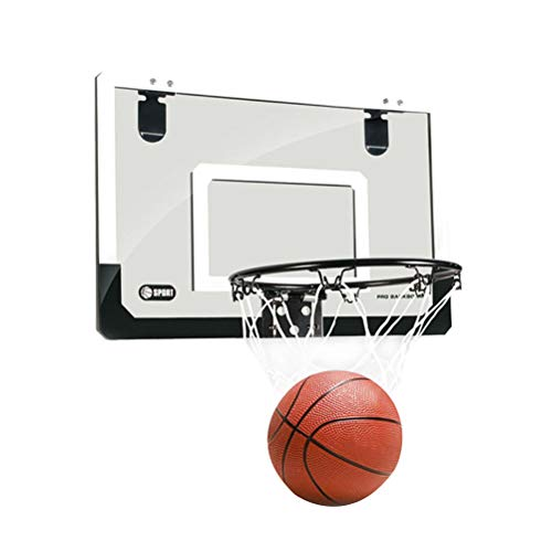 STOBOK Über der Tür Mini-Basketballkorb mit Ball und Pumpe für Kinder Kinder