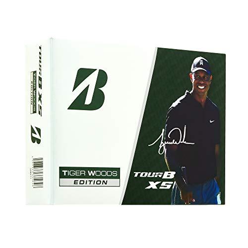 BRIDGESTONE(ブリヂストン)ゴルフボールTOUR B XS 2020年モデル Tiger Woods EDITION3 ホワイト