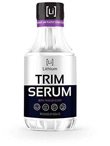 Lithium Auto Elixirs Trim Serum- Plastic Restorer- Restores Even The Most Damaged Plastic, Rubber and Vinyl, Last for Months, Penetrates Plastic Pores Restoring Color. (16oz).