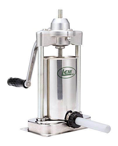 LEM Products 1606 5-Pound Stainless Steel Vertical Sausage Stuffer