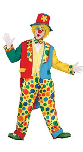 Fiestas Guirca Costume da Pagliaccio Clown Uomo