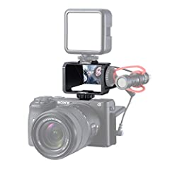 ✔Exclusively Customized for Mirror-less Camera Flip Screen --- For better and accurate vlog video shooting, live steaming. ✔Camera Applicable --- For Sony A72 A73 Series A7II A7RIII A7M3 A6000 A6300 A6500; for Fujifilm XT2 XT3 XT20 XT30; for Canon Pa...