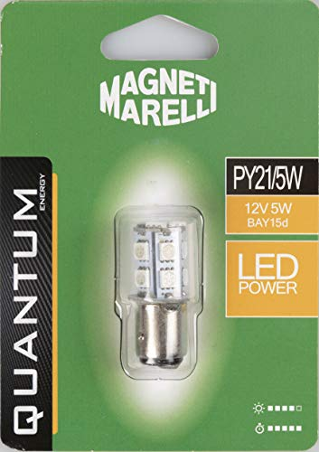 MAGNETI MARELLI 070.0000009506 PY21/5W auto LED-lamp SMD 12V/5W fitting BAY15d