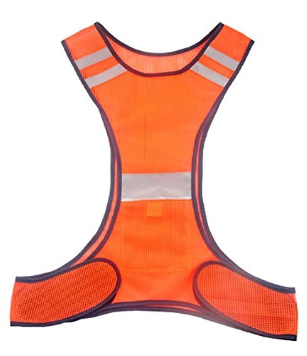 家主凍ったラインナップ[XPデザイン] リフレクト メッシュ ベスト ビブス 夜間 反射 安全 軽量 ランニング ジョギング サイクリング