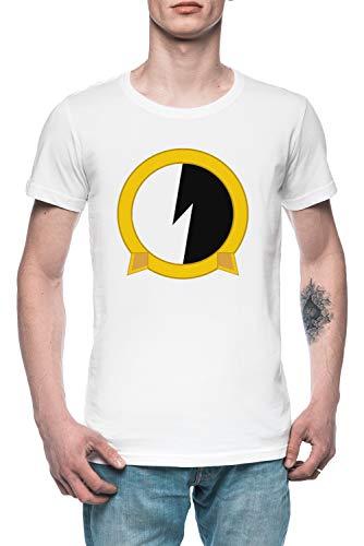 Protoshirtexe Herren T-Shirt Tee Weiß Men's White T-Shirt