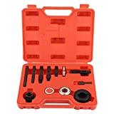 Pulley Puller and Installer Kit, 13pc Power Steering and Alternator Pump Remover and Installation Alternator AC Pulley Puller & Installer Set