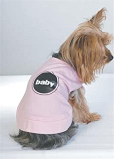 Vo-Toys Doggie Duds Pink T-Shirt Baby XX-Small