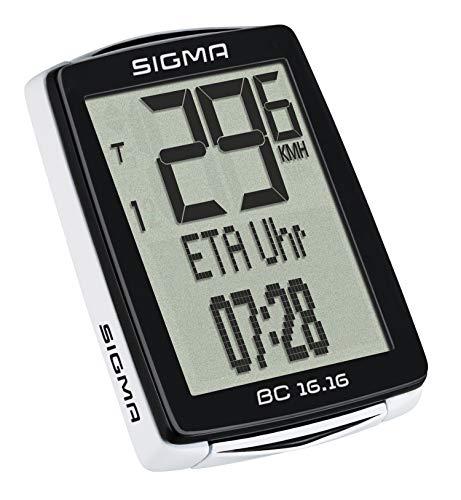 Sigma BC 16.16COMPUTER da bicicletta, tinta unita, taglia unica