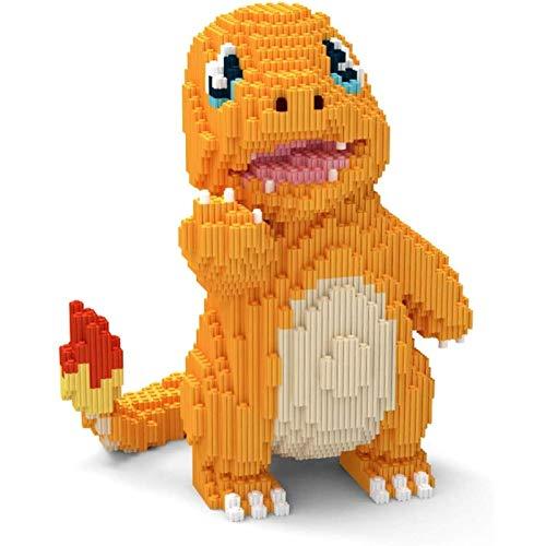 Ikpdbw Bloque de construcción Modelo de Bloque de construcción Conjunto 2157 pequeño dragón de Fuego 3D Rompecabezas DIY Juguete Educativo