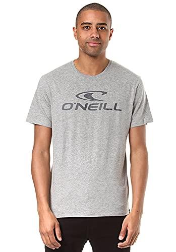 O'NEILL Tees S/SLV Camiseta Manga Corta, Hombre, Gris (Silver Melee), M