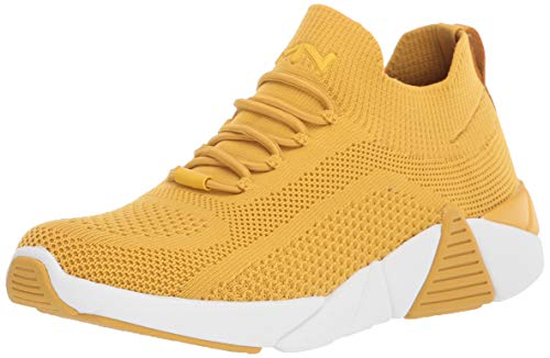 Mark Nason Los Angeles Women's Rider Sneaker, Yellow, 6