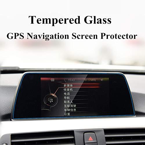 wroadavee Protection d'écran en verre trempé pour navigation GPS (taille moyenne) pour séries 1 2 3 F20 F22 F30 F31 F32 F34