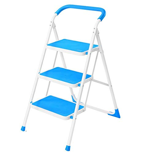 BLWX LY-Step kruk Thuis opvouwen kleine ladder stoel dual-use ladder kruk indoor multifunctionele step kruk Volwassen outdoor werkbanken