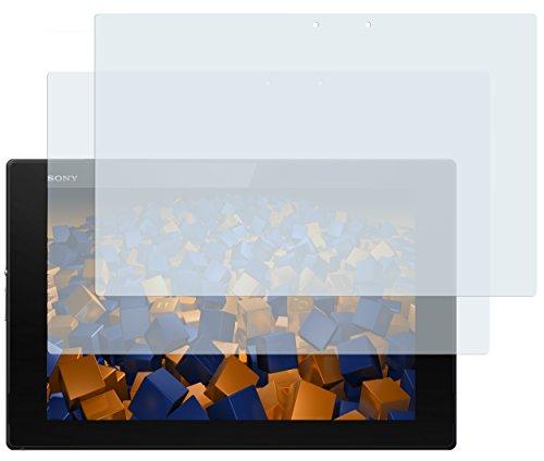 mumbi Schutzfolie kompatibel mit Sony Xperia Z2 Tablet Folie klar, Bildschirmschutzfolie (2X)