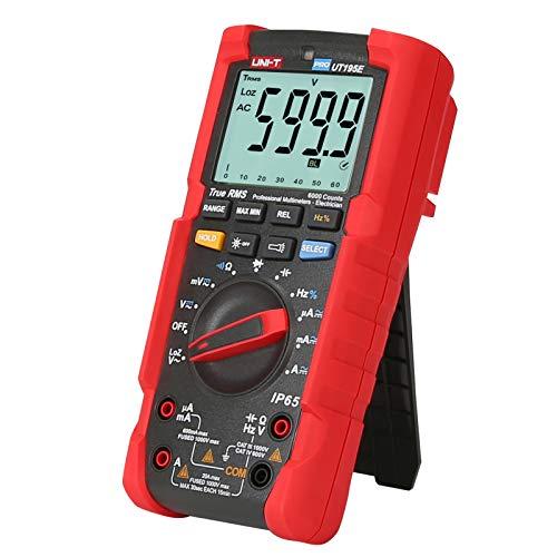 UNI-T UT195E Multimetro Industriale Impermeabile IP65 Torcia Elettrica Misurazione Della Tensione LoZ Multimetro Digitale Vero RMS