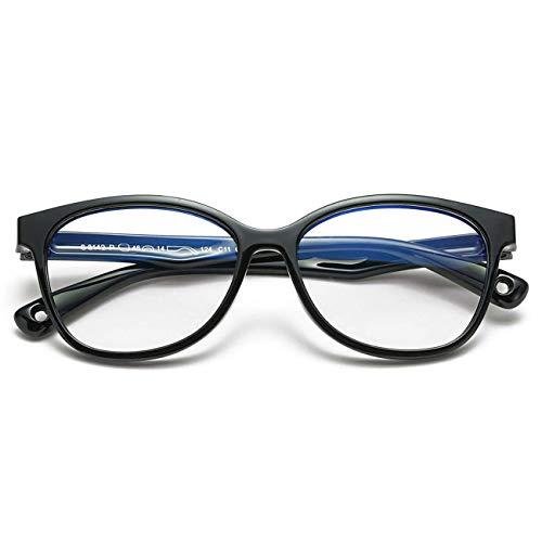 MARIDA Gafas infantiles anti-luz azul, protección anti-reflejos, gafas anti-ultravioleta para ordenador o TV, pantalla de smartphone, niño, niña, 3-10 años, negro