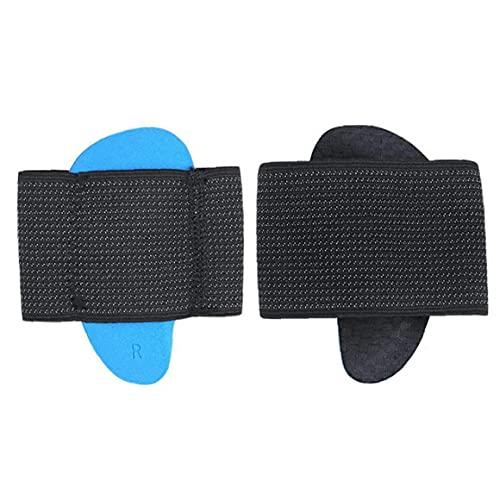 Foot Korrigering Insoles hålfotsinlägg Pads Inläggsulor ortopediska Support Sulor för Flat Foot Correction hög båge Dämpning Förbättra kondition
